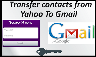 import yahoo mails & contacts into Gmail account