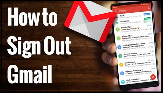 How to Log out of Gmail?