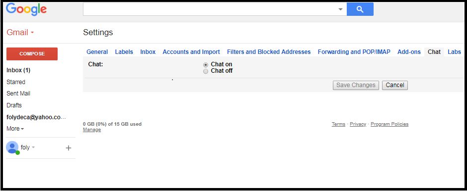 Method to Save Gmail Chat and Google Hangouts history