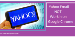 Yahoo Mail Not working