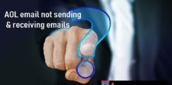 aol email not sending receiving