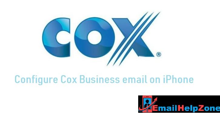 Cox iphone settings