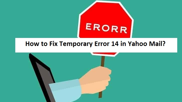 fix yahoo email error 14
