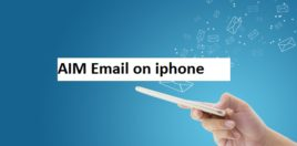 AIM Email Settings for Iphone