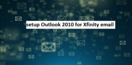 Comcast email outlook setup