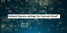 comcast oulook express settings