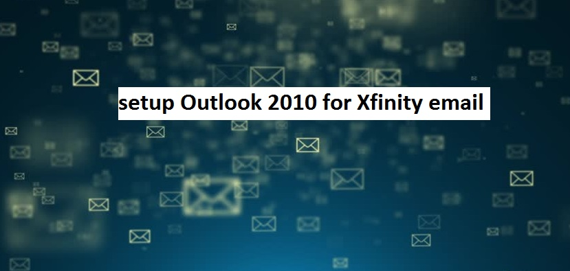 Comcast Outlook: Configure Outlook 2010 for Comcast Email