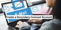 comcast secondary email account
