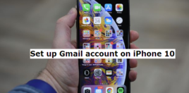 gmail iphone 10