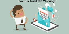 Frontier email not working