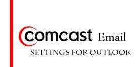comcast outlook settings