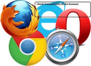 Check your Web Browser
